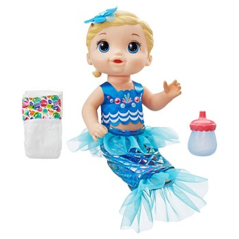 171046: Baby Alive Shimmer 'n Splash Mermaid Blonde Hair
