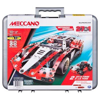 173585: Meccano 27-in-1 Supercar Model Set