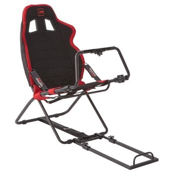 174727: X Rocker XR Circuit Racing Seat Red/Black
