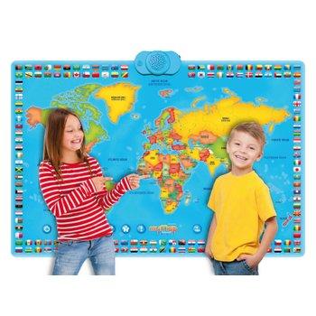 175519: Interactive Talking My World Bilingual English/ German Map
