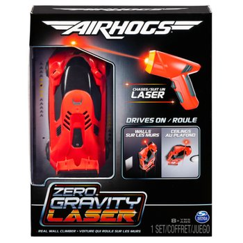 175666: Remote Control Air Hogs Zero Gravity Laser Racer Red Car