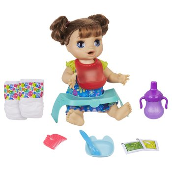 177856: Baby Alive Happy Hungry Baby Brown Hair