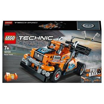 183636: LEGO 42104 Technic Pull Back Race Truck - Racing Car 2in1 Set