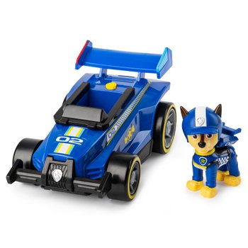 185054: PAW Patrol Ready Race Rescue Chase's Race and Go Deluxe Vehicle