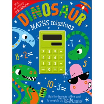 193567: Dinosaur Maths Missions Book with Calculator