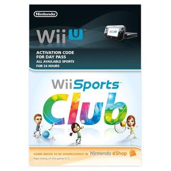 Wii Sports Club 24hr Pass Wii U DOWNLOAD CARD