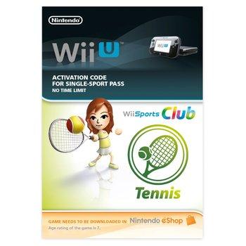 Wii Sports Club Tennis Wii U DOWNLOAD CARD