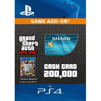 GTA V: Tiger Shark Cash Card Digital Download