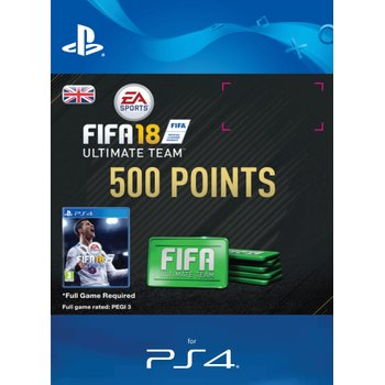 500 FIFA 18 Points Pack PS4 Digital Download