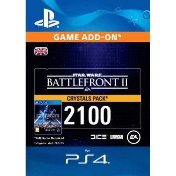 Star Wars Battlefront™ II: 2100 Crystals PS4 Digital Downlaod