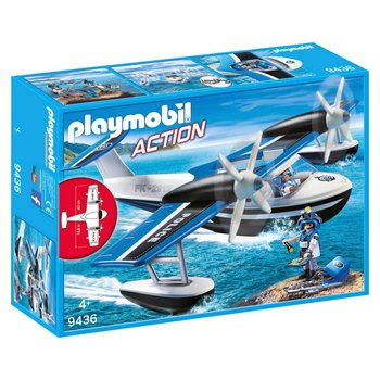 8000473: Playmobil 9436 Action Floating Police Seaplane