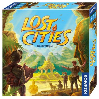 Kosmos - Lost Cities, das Brettspiel
