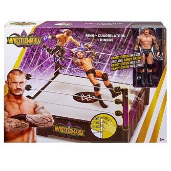 WWE - Wrestlemania Ring + Randy Orton, 15 cm (FMH82)