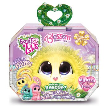 5038fcc8431 Scruff -a-Luvs Blossom Bunnies Mystery Colour Soft Toy - Lemon Drizzle