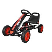 Black And Red Pedal Go Kart Clearance Uk