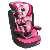 Imax Deluxe Disney Minnie Mouse Group 1 2 3 Car Seat Pink