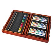175 Piece Wooden Art Set Art Sets Ireland