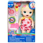 Baby Alive Super Snacks Snackin Lily Doll Blonde