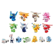 Super Wings Transform-a-Bots World Airport CrewSeries 1Crew Collector P...