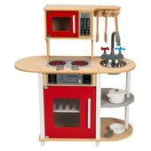 Little Chef Wooden Play Kitchen - Kitchens & Household Ireland
