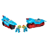 PAW Patrol Mighty Pups Super PAWs, Mighty Twins 2-in-1 Power Split Vehicle  - Paw Patrol UK