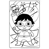 Ryan 39 s World Giant Colouring Pages