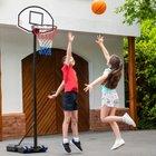 Tragbarer Basketballständer, 150-210 cm