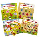 Play & Learn Holzpuzzle, sortiert