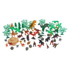 Spielset Dinosaurier, 60-tlg.