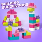 MEGA Bloks - 60 Steine Beutel, pink