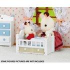 Sylvanian Families - Schokoladenhasen Baby + Babybett