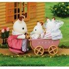 Sylvanian Families - Schokoladenhasen Zwillinge + Kinderwagen