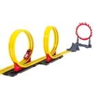 Speed Way Kinetic Doppel-Loop Rennstrecke