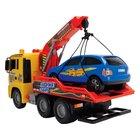 Abschleppwagen mit Auto, 55 cm