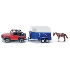 SIKU Super - 1651: Geländewagen mit Pferdeanhänger