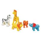 Big Steps - Safari Tiere, 5er Pack