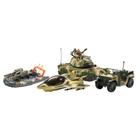 The Corps Elite - Combat Strike Fahrzeug-Set, 4-tlg.