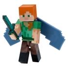 Minecraft - Serie 4: Figur Alex mit Elytrenflügeln
