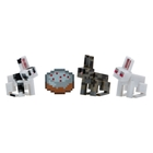 Minecraft - Serie 4: Figur Bunnies, 7 cm