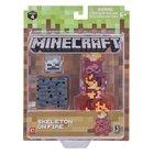 Minecraft - Serie 4: Figur Skelett in Flammen