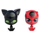 Miraculous - Figurenset Ladybug und Cat Noir, ca. 26 cm