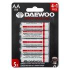 Daewoo - Batterie Alkaline AA, 5 Pack