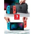 Nintendo - Switch: Konsole Neon rot/blau