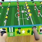 2-in-1 Kickertisch & Tischfußball
