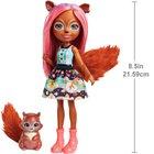 Enchantimals - Eichhörnchenmädchen Sancha Squirrel