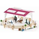 Schleich - 42389 Reitschule mit Reiterinnen und Pferden