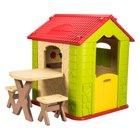 Spielhaus Deluxe mit Tisch & Stühlen