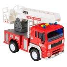 Feuerwehrwagen mit Licht und Sound, klein