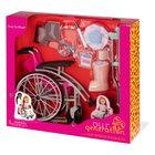 Our Generation - Rollstuhl mit Spielset