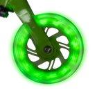 Sporter 1 - schwarz-grüner Scooter, mit LED Leuchten